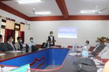 स्वास्थ्यकर्मिहरुको लागि क्षयरोग सम्बन्धी अभिमुखीकरण कार्यक्रम  पूर्वखोला गाउँपालिकामा शुभारम्भ