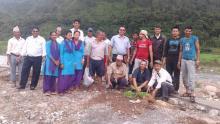 हरियाली पूर्वखोला गाउँपालिका बनाउनको लागि २०७५/०४/३० गते वृक्षारोपण कार्यक्रमका झलकहरु
