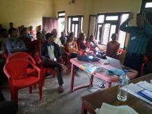 देवीनगर वडा कार्यालयको वार्षिक समिक्षा तथा  ०७५/०७६ को बजेट प्रस्तुतीकरण