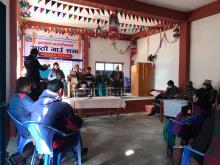 पूर्वखोला गाउँपालिका गाउँ कार्यपालिकाको कार्यालय, पाल्पाको आठौँ गाउँ सभाको समुदघाटन कार्यक्रम पछिको पत्रकार सम्मेलनका केहि झलकहरु