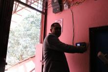 पूर्वखोला गाउँपालिकामा C.C.T.V. क्यामरा र इलेक्ट्रोनिक हाजिरी मेशिन जडान कार्य सम्पन्न