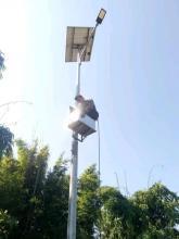 पूर्वखोला गाउँपालिकाको हात्तिलेकमा सोलार बत्ति जडान